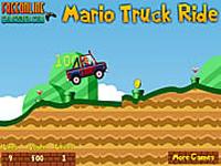لعبة ماريو وسيارة الجيب الكبيرة