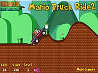 لعبة ماريو والشاحنة الجامدة جدا