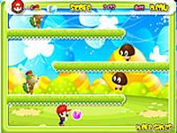 لعبة مغامرة ماريو الشجاع العالمي
