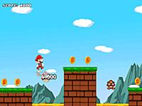 لعبة مغامرة ماريو الشجاع الرائع