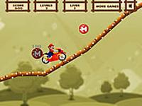 لعبة ماريو والدراجة السريعة الجامدة جدا