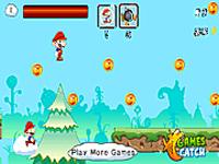 لعبة مغامرة ماريو والكرات الملونة