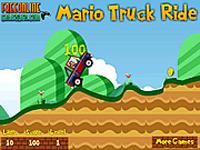 لعبة ماريو والشاحنة الكبيرة الجامدة