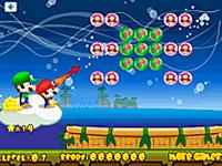 لعبة ماريو والكرات الملونة المتشابهه