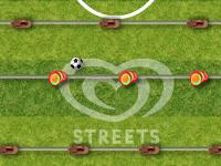 لعبة كرة القدم الرائعة على طاولة الفرفيرة المدهشة