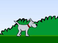 لعبة مغامرة الكلب روبي في الحديقة الخضراء