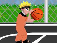 لعبة ناروتو وكرة السلة الرائعة