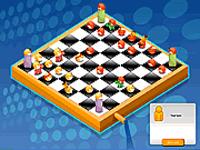 العاب شطرنج ابيض واسود