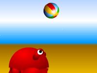 العاب كرة الطائرة الرملية