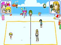 لعبة كرة الطائرة الحديثة
