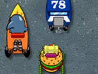 لعبة سبونج بوب السباق السريع