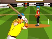 لعبة بيسبول واللاعبين المحترفين