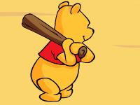 لعبة بيسبول والدب وني بووة