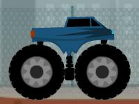 لعبة الشاحنة الكبيرة الجبلية