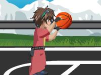 لعبة باكوجان وكرة السلة