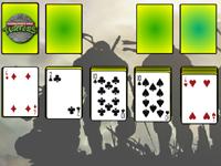 لعبة سوليتير سلاحف النينجا