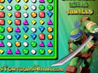 لعبة بازل وذكاء سلاحف النينجا الجديدة