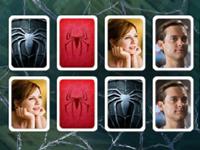 لعبة سبايدر مان والصور المتطابقة
