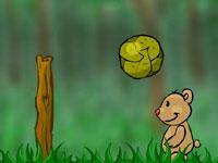لعبة كرة الطائرة للصغار