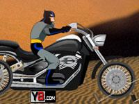 لعبة باتمان والدراجة السريعة جدا