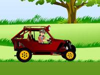 لعبة باكوجان والسيارة الكبيرة