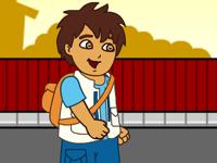 لعبة دييغو والذهاب للمدرسة