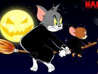 لعبة توم وجيري في ليلة الهالويين