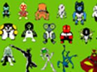 لعبة بن تن ترتيب الشخصيات القتال1