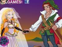 لعبة زفاف القرصان