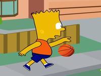 لعبة سيمبسون وكرة السلة