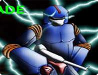 لعبة الروبوت الازرق