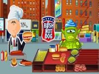 لعبة هوت دوج بوش