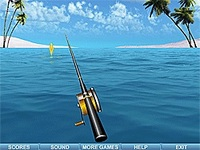 لعبة الصيد بالسنارة