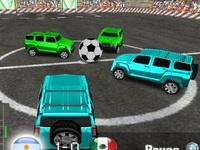 لعبة كرة القدم بالسيارات