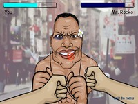 لعبة ملاكمة المشاهير