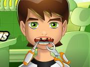 لعبة بن تن في عيادة طبيب الاسنان