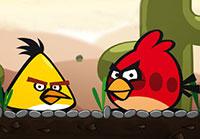 لعبة بازل سوبر الطيور الغاضبة