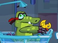 لعبة التمساح والبط