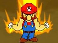 لعبة سوبر ماريو الغاضب