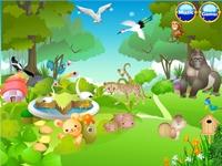 لعبة تنظيف حديقة الحيوانات