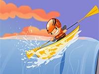 لعبة سباق القوارب
