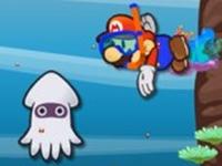 لعبة ماريو ورحلة غطس