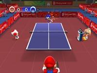 لعبة ماريو وتنس الطاولة