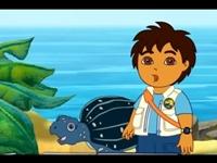 لعبة دييجو وسلحفاة البحر