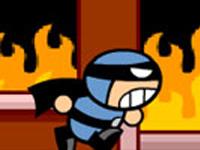 لعبة سوبر مان والانقاذ من الحريق