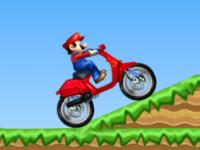 لعبة ماريو والدراجة الخطيرة