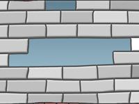 لعبة سرعة تحطيم الجدران القوية الخطيرة